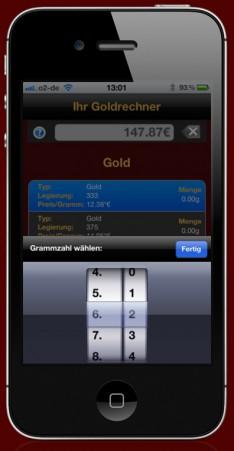Unsere Goldankauf App für Apple und Android Geräte! - App-Abbildung-2