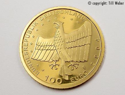 Goldmünzen Deutschland - 100_Euro_Bamberg