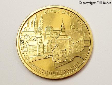 Goldmünzen Deutschland - 100_Euro_Bamberg_1