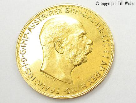 Goldmünzen Österreich Ungarn - 100_kronen_goldmuenze