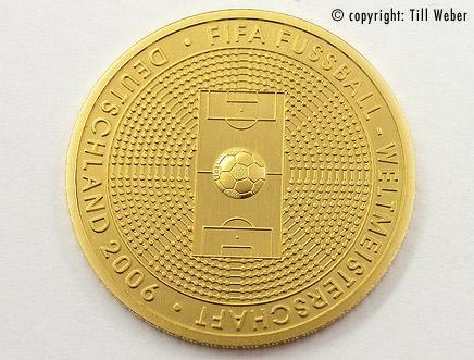 Goldmünzen Deutschland - 100euro_fifa