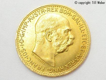 Goldmünzen Österreich Ungarn - 10_Kronen_1