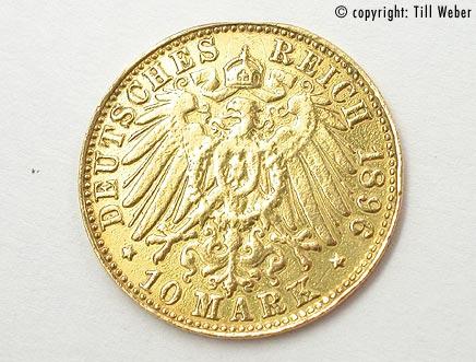 Goldmünzen Deutschland Kaiserzeit - 10_Mark