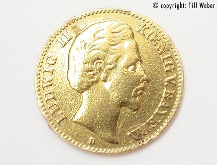 Goldmünzen Deutschland Kaiserzeit - 10_Mark_Ludwig