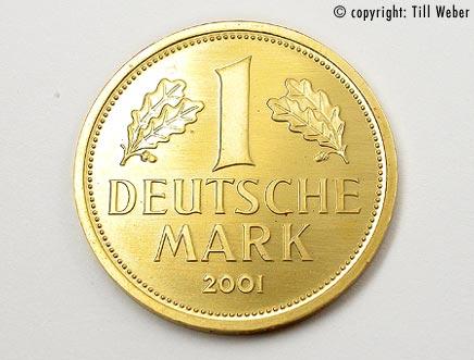 Goldmünzen Deutschland - 1_Mark_2001