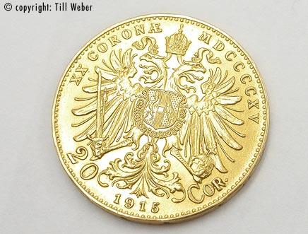 Goldmünzen Österreich Ungarn - 20_Kronen