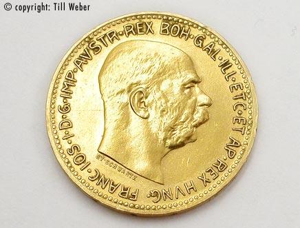 Goldmünzen Österreich Ungarn - 20_Kronen_1