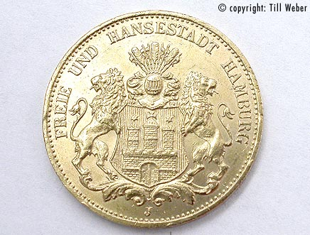 Goldmünzen Deutschland Kaiserzeit - 20_Mark