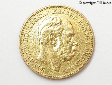 Goldmünzen Deutschland Kaiserzeit - 20_Mark_W