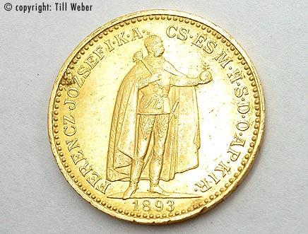 Goldmünzen Österreich Ungarn - 20_kronen_ungarn