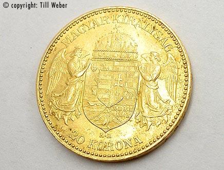 Goldmünzen Österreich Ungarn - 20_kronen_ungarn_1