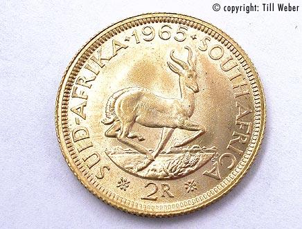 Goldmünzen Südafrika - 2_rand-Suedafrika