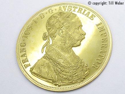 Goldmünzen Österreich Ungarn - 4_Dukat