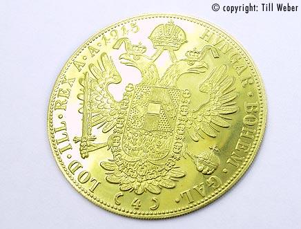 Goldmünzen Österreich Ungarn - 4_Dukat_1
