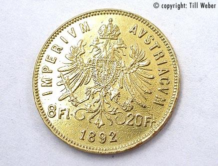 Goldmünzen Österreich Ungarn - 8_Florin