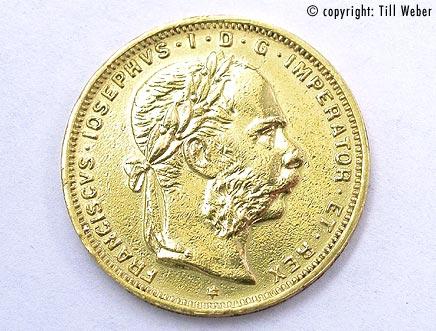 Goldmünzen Österreich Ungarn - 8_Florin_1