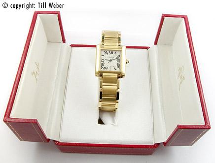 Cartier - Cartier_Tank_Francaise_Gold