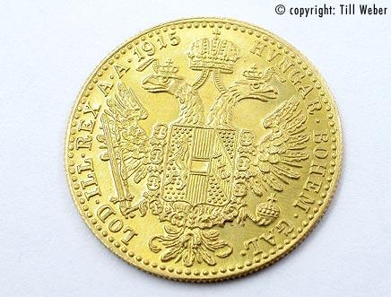 Goldmünzen Österreich Ungarn - Dukat