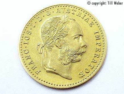 Goldmünzen Österreich Ungarn - Dukat_1