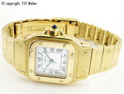 Cartier - cartier_santos_gold_goldband