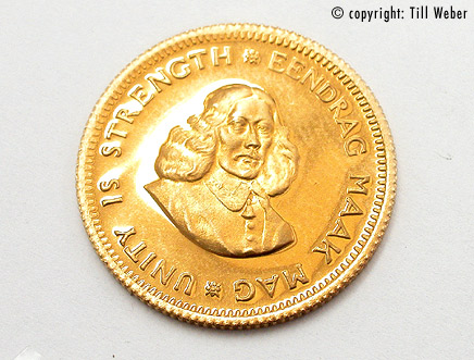 Goldmünzen Südafrika - goldmuenz_1rand_1