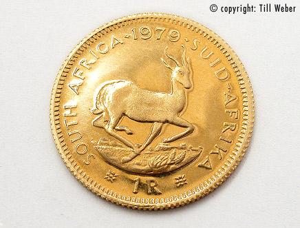 Goldmünzen Südafrika - goldmuenze_1rand