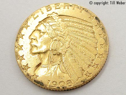Goldmünzen Amerika - goldmuenze_5_dollar_indianer_1