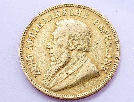 Goldmünzen Südafrika - goldmuenze_pond_sued_afrika_1