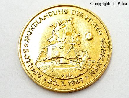 Goldmünzen Varia 2 - goldmuenze_wernher_von_braun_1