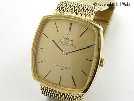 Armbanduhr omega gold