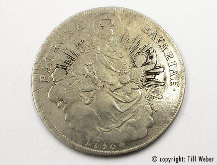 Silbermünzen - silbermuenze_bavarie