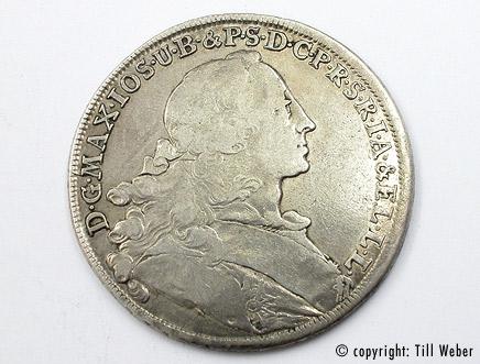 Silbermünzen - silbermuenze_bavarie_1