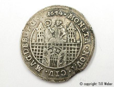 Silbermünzen - silbermuenze_magdeburg