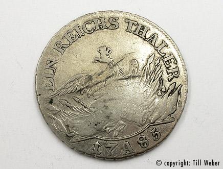 Silbermünzen - silbermuenze_reichsthaler
