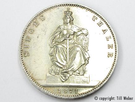 Silbermünzen - silbermuenze_siegesthaler