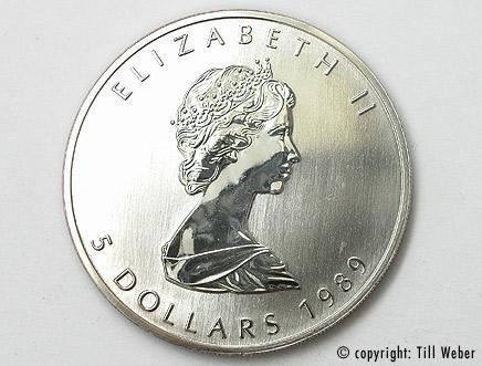 Silbermünzen - silberunze_maples_leaf