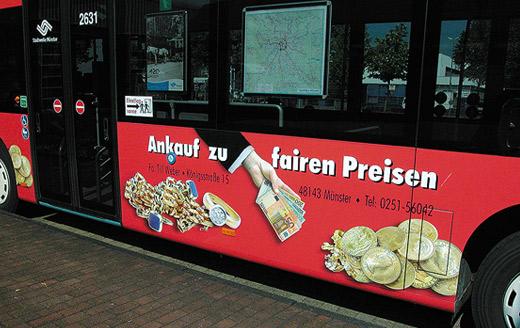 Goldankauf in Münster - bus-seite